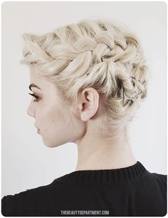 Updo ideas for bob length hair