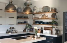 PHOTO-2018-09-01-14-57-39 Navy And White, Floating Shelves, Bookcase, Kitchen, Table, Furniture, Home Decor, Cooking, Decoration Home