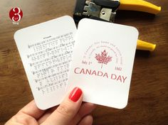 Canada Day PL printable cards