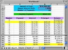 amortization schedule!