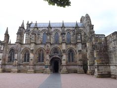 The magnificent Rosslyn Chapel just outside Edinburgh