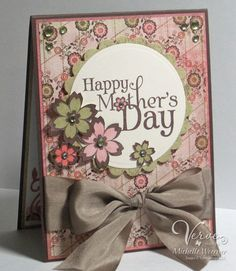 lovely mothers day card - add a photo to the front?