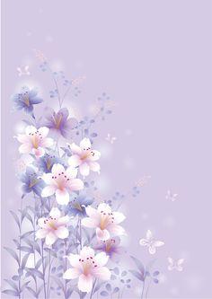 >> Design Set 2 butterflies/flowers