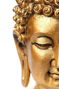 Half Gold Buddha
