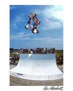 Steve Cab at Mount Hawk 2 skate legends!