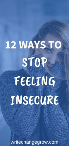 Feeling insecure and inferior can negatively affect your life. It's important to take action when you are feeling insecure. Read 12 ways to stop feeling insecure to uncover what techniques can work for you. Dealing With Insecurity, Dealing With Stress, Self Development, Personal Development, Adversity Quotes, Feeling Insecure, Learning To Love Yourself, Knowing Your Worth, Finding Happiness