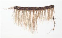 Pattern E,Taniko weaving from TePapa