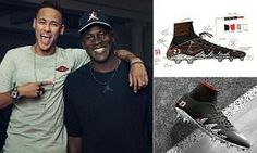 Neymar teams up with Michael Jordan to create first Nike Jordan football boot which Barcelona star will debut at Rio Olympics  By Anthony Hay for MailOnline