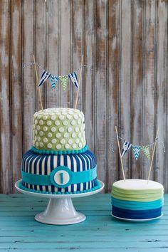 Boys 1st Birthday Cake!