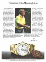 Rolex Day-Date Chronometer 1983 Ad Picture