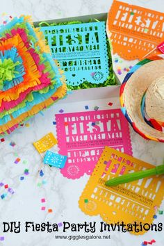 DIY Fiesta Party Inv