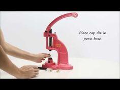 I Like Big Buttons! - How to install DK 98 snap press dies - DK-98 snap press die installation video from ILikeBigButtons.com #kamsnaps #plasticsnaps #ilikebigbuttons