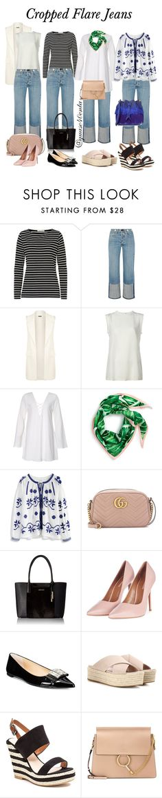 """""""Cropped Jeans"""" by fabiana-canegal ❤ liked on Polyvore featuring Betty Barclay, rag & bone, WearAll, Dolce&Gabbana, Echo, Chicwish, Gucci, Calvin Klein, Topshop and Michael Kors"""