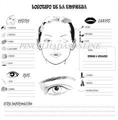 Fichas de Maquillaje para Centros de enseñanza