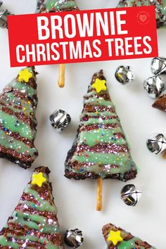 Get ready for the most delicious Christmas brownies from Smart School House. This Christmas you have to make these delicious Christmas tree brownies that are drizzled in melted frosting and have a pretzel trunk! They are so easy to make. Parents and kids alike will be crazy about this delicious brownie treat for the holidays. See how easy it is to make these great Christmas tree brownies for a fun treat this holiday season. #recipe #chocolate #dessert #holiday #easy #christmas
