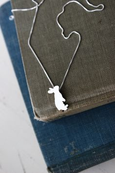 Everybody needs somebunny to love. #etsy #jewelry #bunny