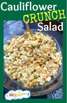 Sneaky Cauliflower Crunch Salad - MOMables.com