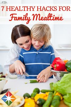 Do you have picky kids? You are not alone! But there is help. We've devised a complaint-free way to improve any family diet. Try these 7 healthy hacks for family mealtime and see if your kids' attitudes toward foods changes for life!