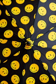 Smiley Face Umbrella  (Yup, I actually own one of these.  They were given away at K-mart to introduce the Joe Boxer merchandise line back in the day.