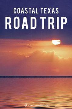 Take a drive down the Texas coast.