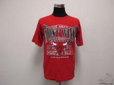 Vtg 90s Logo 7 Chicago Bulls t Shirt sz L Large Jordan Pippen 70 Wins NBA #Logo7 #ChicagoBulls #tcpkickz