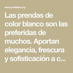Las prendas de color blanco son las preferidas de muchos. Aportan elegancia, frescura y sofisticación a cualquier atuendo. Sin embargo, cuando comienzan a tomar un color amarillo, dejamos de usarlas y comenzamos a pensar que la ropa de este color no es una buena inversión.