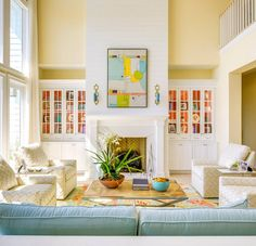 If you want to bring a new atmosphere into the living room, one way you can do is to change the color of the living room. The technique of applying living room paint colors that you can try is by c… Yellow Paint Colors, Best Paint Colors, Room Paint Colors, Paint Colors For Living Room, Yellow Painting, Paint Colors For Home, Living Room Decor, Living Rooms, Bright Colors