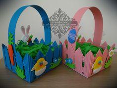 Canastos de Pascua de Resurección; Easter Basket
