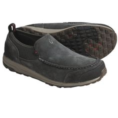 OluKai Kama Hele Shoes - Recycled Materials (For Men) in Warm Black