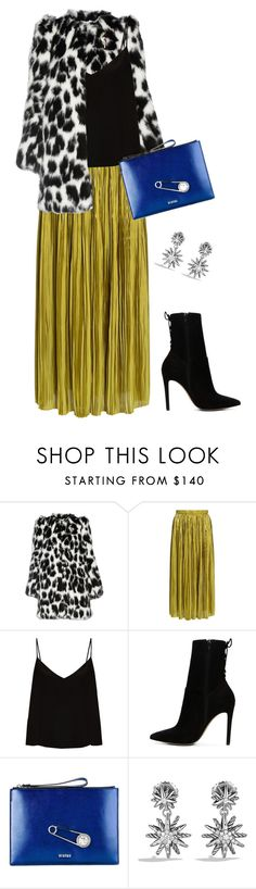 """""""Untitled #3234"""" by elia72 ❤ liked on Polyvore featuring Marc Jacobs, TIBI, Raey, ALDO, Versus and David Yurman"""