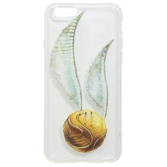 Harry Potter Golden Snitch Hardshell iPhone 6/6s Phone Case Hot Topic ❤ liked on Polyvore featuring accessories, tech accessories, phone, harry potter, phone cases and case
