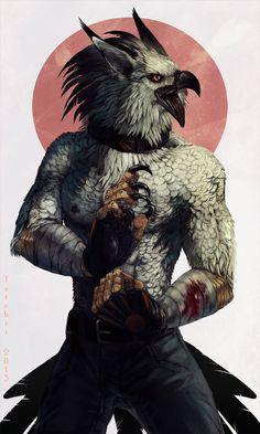 Brawling Bird by Tatchit