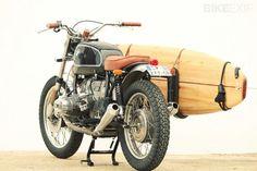 Damn! Wat dacht je van de custom BMW R65 'Surfboard Motorcycle' uit 1979? Deze bike van…
