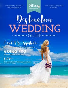 Everything you've ever wanted to know about planning a destination wedding, all in this free guide!