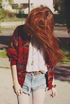 good color combination & pattern on sweater