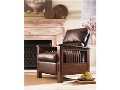 Shop for Millennium High Leg Recliner, 4940326, and other Living Room Chairs at Simply Discount Furniture in Saugus, CA. All leather high leg recliner in Monarch Valley leather, featuring a soft hand and handsome graining. Mission style wood arms blend well into any family room environment.