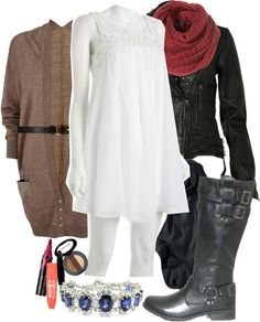 """""""Winter"""" by xdressedinblackx ❤ liked on Polyvore"""