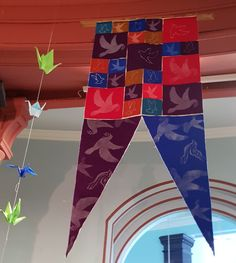 One of the 17 beautiful banners created by citizens of Leeds this one was made by Meeting Point in Armley. Peace Meaning, Leeds City, City Museum, Banners, Display, This Or That Questions, Create, Gallery, Outdoor Decor