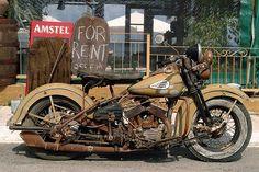 vintage harley davidson | Rare Vintage Harley Davidson Motorcycles - InfoBarrel #HarleyDavidson #Vintage