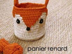 DIY panier renard so cute ! • Hellocoton.fr