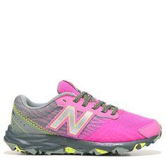 New Balance Kids' 690 V2 Medium/Wide Trail Running Shoe Pre/Grade School Shoes (Pink/Grey) - 13.0 W