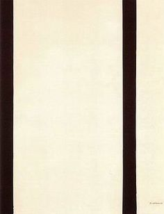 8. Eighth Station Artist: Barnett Newman Completion Date: 1964 Style: Color Field Painting Series: The Stations of the Cross: Lema Sabachthani Genre: abstract