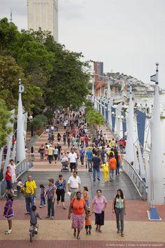 Malecon de Guayaquil, Ecuador