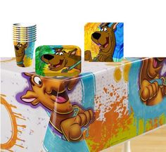 Scooby-Doo Mod Mystery Party Supplies Pack Including Plates, Cups, Tablecover and Napkins- 8 Guests, http://www.amazon.com/dp/B00B1YEZY6/ref=cm_sw_r_pi_awd_9ATvsb1HWP5CG