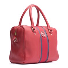 Leather Bella Duffle Bag from Tommy Hilfiger Tommy Hilfiger, Cute Backpacks, Clutch Bags, Winter Sale, Signature Style, Hand Bags, Bag Accessories, Clutches, Trends