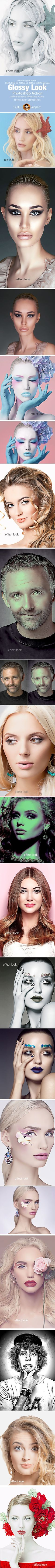Glossy Look Action - Photo Effects Actions