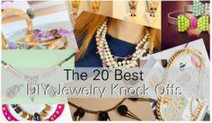 20 Best DIY Jewelry Knock Offs