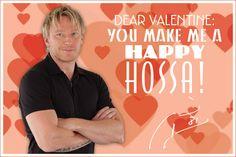 Make him a Happy Hossa! #BlackhawksValentinesDay