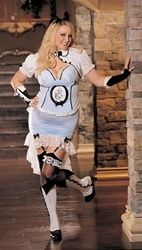 Steampunk Victorian style Alice in Wonderland Costume  Plus Size 1X /2X