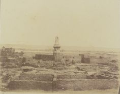 1849-1850 - Edfou. Photographe : Maxime Du Camp